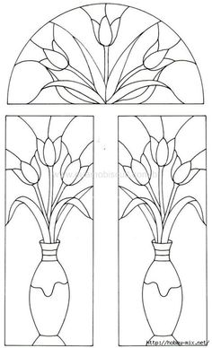 Patterns for Stained Glass painting .. Discussion on LiveInternet - Russian Service Online Diaries