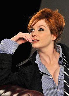Busty Redhead Secretary