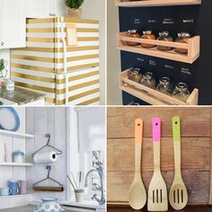 DIY: 24 ideias criativas e econômicas para decorar e organizar a cozinha - Casinha Arrumada