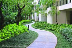 The Pakubuwono House : Jogging track