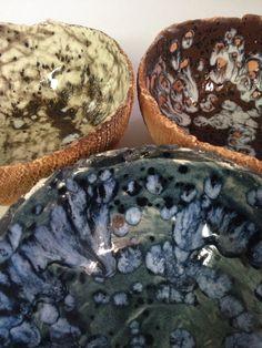 Vasijas en cerámica por Adriana Dorantes