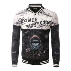 Groovy King Kong Jacket #urbanstreetzone  #urbanstreetwear #urbanclothes #ootd #outfit #outfitoftheday #outfitinspiration #brand #boutique #outfitgrid #streetbeast #minimalism #streetfashion #highsnobiety #contemporary #dtla #gq #yeezy #losangeles #style #simplefits  #pinfashion  #pinterestfashion #mens #jacket #kingkong