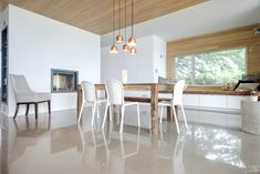 Béton Prestige, the Master of the Art of Polished Concrete. Polished Cement, Polished Concrete Flooring, Best Trade, Heating Systems, The Prestige, Epoxy, Dining Table, Construction, Furniture