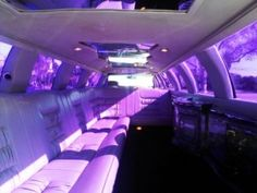 Limo: 1998 White 160-inch Lincoln Towncar Limo for sale #1624