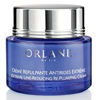 Buy Orlane Paris Extreme Line-Reducing Re-plumping Cream online! This exceptional treatment fights wrinkles at their source and takes combats the causes of sagging, deep lines and discomfort. Wrinkles are visibly reduced, the face is profoundly rejuvenated, and skin is left fuller, denser, and extremely comfortable.