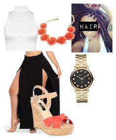 """""""Lunch date"""" by vegasdoll143 on Polyvore featuring WearAll, Marc by Marc Jacobs, J.Crew and Dune"""