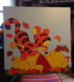 Geburtstafel Tigger, Disney Characters, Fictional Characters, Art, Homemade, Art Background, Kunst, Performing Arts, Fantasy Characters