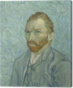 f414a280fa1195 Vincent van Gogh - Self-portrait Canvas Print • Pixers® • We live to change