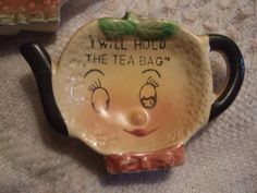 A Spot of Tea Cutest Little Vintage Tea Bag Holders by juneandward