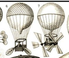Love these awesome hot air balloons; based on steampunk. Would love to have one done in black and grey.