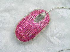 Pink bling mouse #SizzlingSummerBling @catalogs