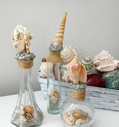 72 Best Seashell Decorating Ideas Images Clams Seashells