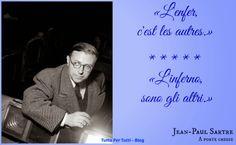 Tutto Per Tutti: JEAN-PAUL CHARLES AYMARD SARTRE (PARIGI, 21 GIUGNO...
