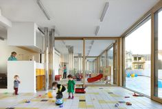 Image 17 of 23 from gallery of Child Day Care Centre / Burobill + ZAmpone architectuur. Photograph by Filip Dujardin