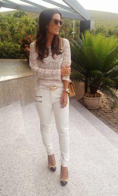 Meu look: all white - Blog da Maria Sophia | Moda It