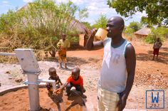 Another day means another new well providing safe, clean drinking water! #waterislife #givewatergivelife