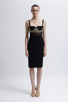 Badgley Mischka Resort 2013 Collection Slideshow on Style.com