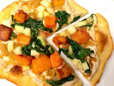 NYT Cooking: Roasted Apple, Butternut Squash and Caramelized Onion Pizza