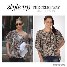 Here's your chance to Style Up like #KateHuson.  #styleupthecelebway  MRP- Rs. 1099  SALE Price- Rs. 550 Instant Buying – www.provogue.com