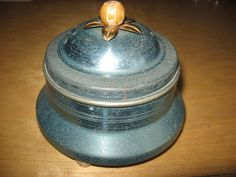 Powder puff music box by TonysCollectibles on Etsy, $15.00