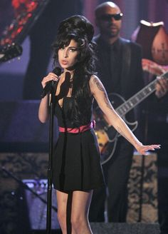 Amy Winehouse was an amazing singer!