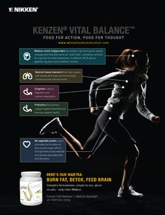Experience Kenzen Vital Balance from Nikken, an organic-based meal replacement mix with probiotics, protein, and greens. Put it on autoship and save 25%.