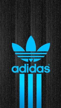 Adidas wallpaper. 3d Wallpaper Black, Logo Wallpaper Hd, Phone Wallpaper Design, Pop Art Wallpaper, Apple Wallpaper, Cool Car Backgrounds, Adidas Backgrounds, Adidas Iphone Wallpaper, Nike Wallpaper