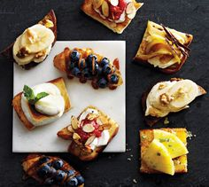 Holiday Crunch: 6 Sweet Crostini Recipes
