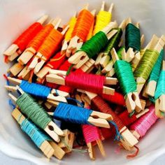 Organizing Embroidery Floss