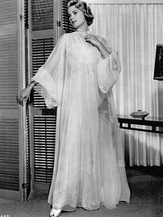 Grace Kelly dramatic nightgown