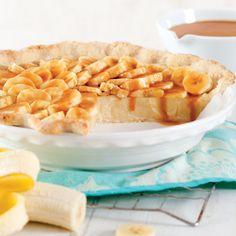Bananas Foster Pie #louisiana #desserts