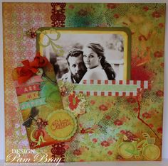 Scrapbook Flair: Craft Hoarders Anonymous Challenge Blog Hop with StencilGirl Products