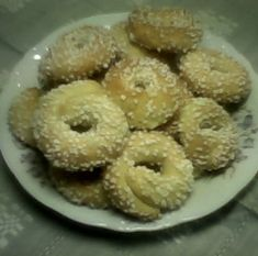 Bagel, Doughnut, Tin, Desserts, Tailgate Desserts, Deserts, Pewter, Postres, Dessert