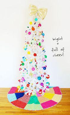 christmas tree skirt / ann kelle