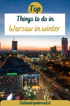 Top things to do in Warsaw in winter