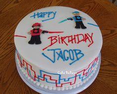 Cake Believe: Laser Tag!