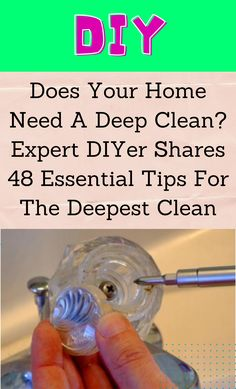 Deep Cleaning Tips, Household Cleaning Tips, House Cleaning Tips, Diy Cleaning Products, Cleaning Solutions, Cleaning Hacks, Cleaning Supplies, Diy Cleaners, Cleaners Homemade