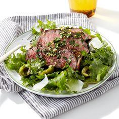 Steak & Kale Salad with Balsamic Vinegar & Parsley Gremolata - Rachael Ray Every Day