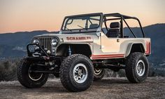 In an all-new rework of the vintage Jeep Scrambler, the sturdy four-wheel drive gets a revamp for more off-road adventures.
