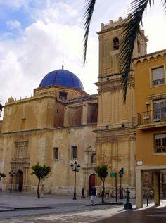 Basílica de Santa Maria en Elche, Alicante. - http://sixt.info/Alicante-pinterest - #Elche #cultura #Alicante