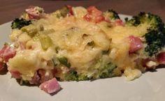 Broccoli en Ham Ovenschotel