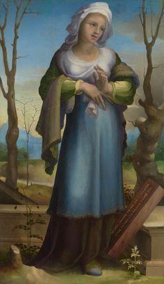 Domenico Beccafumi - Marzia - 1519 - London, National Gallery