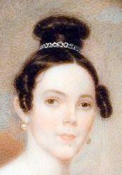 1835 Tagesfrisur