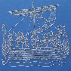 Yumiko Higuchi I Ship Embroidery