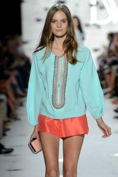 Diane Von Furstenberg - Runway - Spring 2013 Mercedes-Benz Fashion Week