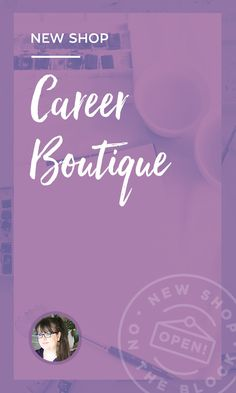 On the Creative Market Blog - New Shop on the Block: Career Boutique