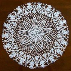 Crochet Mat, Filet Crochet, Crochet Stitches, Crochet Patterns, Crochet Placemats, Crochet Table Runner, Crochet Doilies, Circle Skirt Pattern, Chrochet