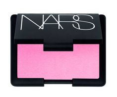 NARS Gaiety blush -- I love this blush ! I know, I know, it seems really neon, but don't worry its not nearly as bright on your face :)