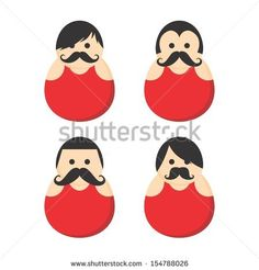 mustache people wrestling guy user icon picture avatar portrait by Vector1st, via Shutterstock