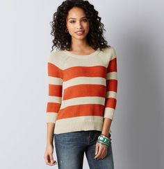 There's just something about stripes that makes me happy.